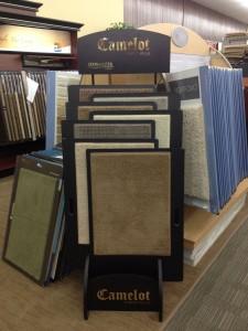 Camelot Carpet Display