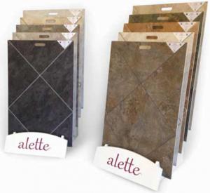 Groutable Luxury Vinyl Tile (LVT)