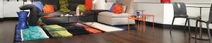 Dark Hardwood Flooring | Living Room Hardwood