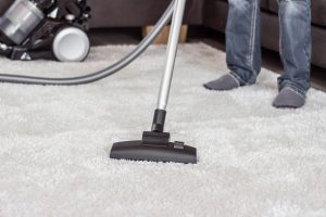 Vacuuming Thick Carpeting