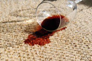 Spilled Wine On Carpet
